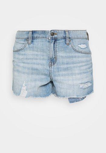 Denim shorts - medium wash