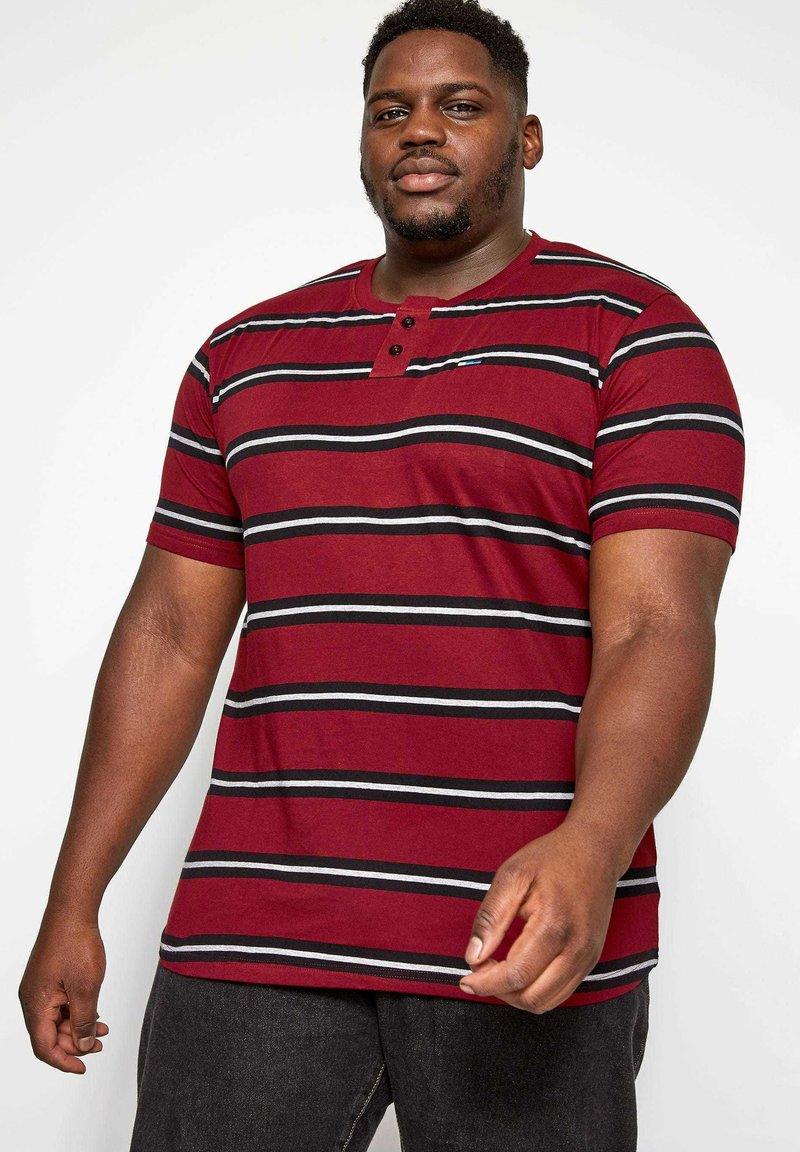 BadRhino - Print T-shirt - red