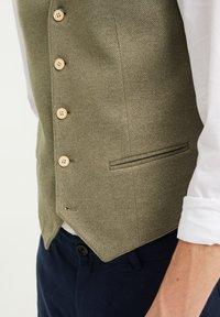 WE Fashion - Suit waistcoat - olive green - 3