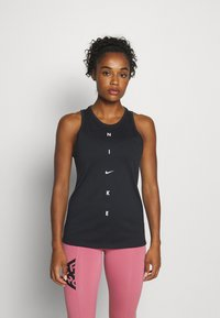 Nike Performance - DRY TANK GET FIT - Funktionsshirt - black - 0