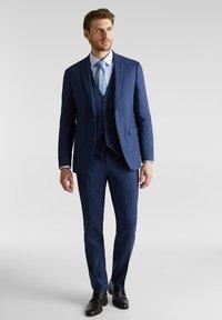 Esprit Collection - FIL-A-FIL  - Blazer jacket - dark blue - 1
