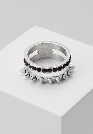 REBEL - Anello - silver-coloured