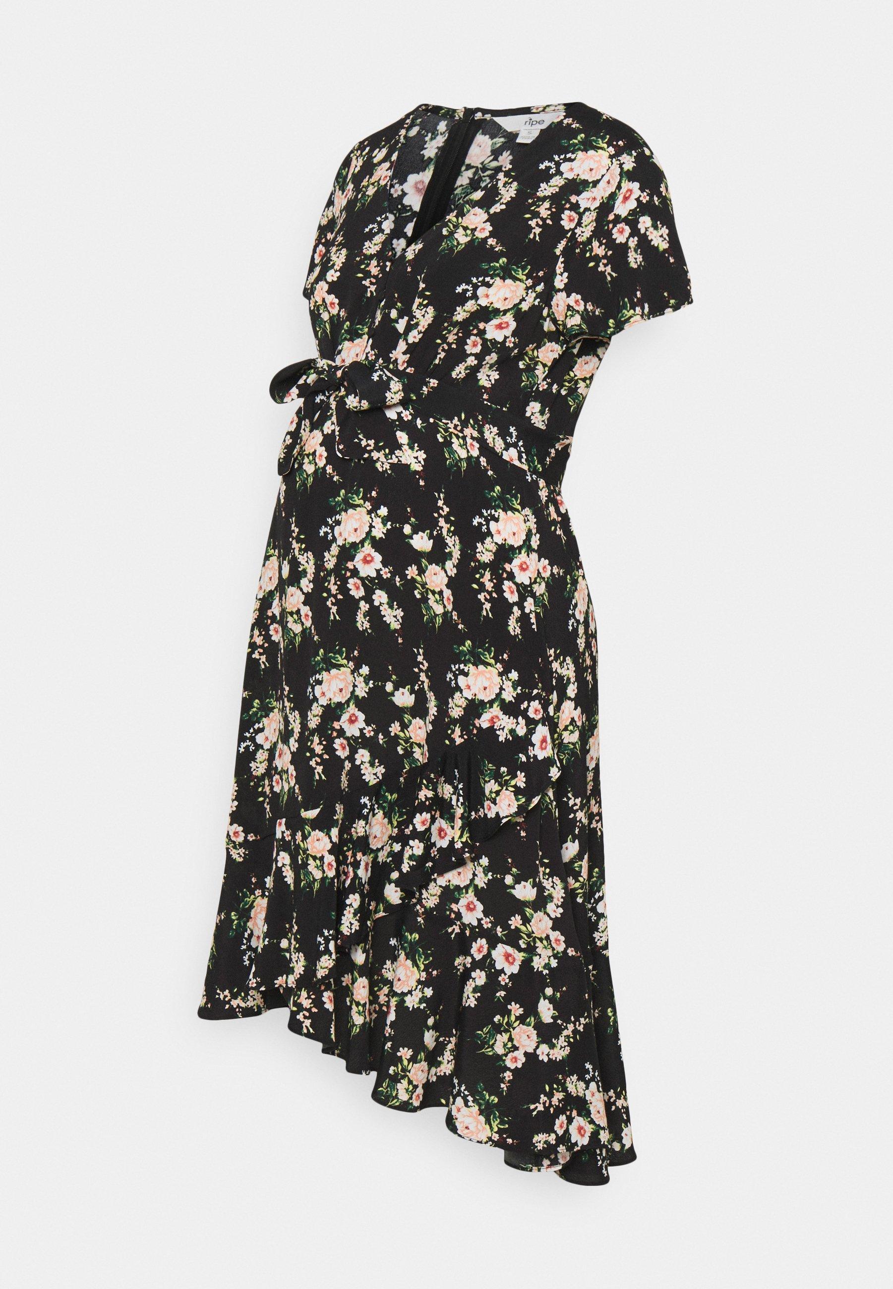 Women ELORA TIE FRONT DRESS - Day dress