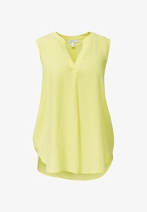 Blouse - bright yellow