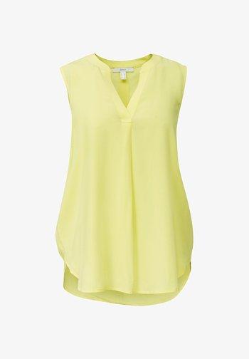 Blouse - bright yellow