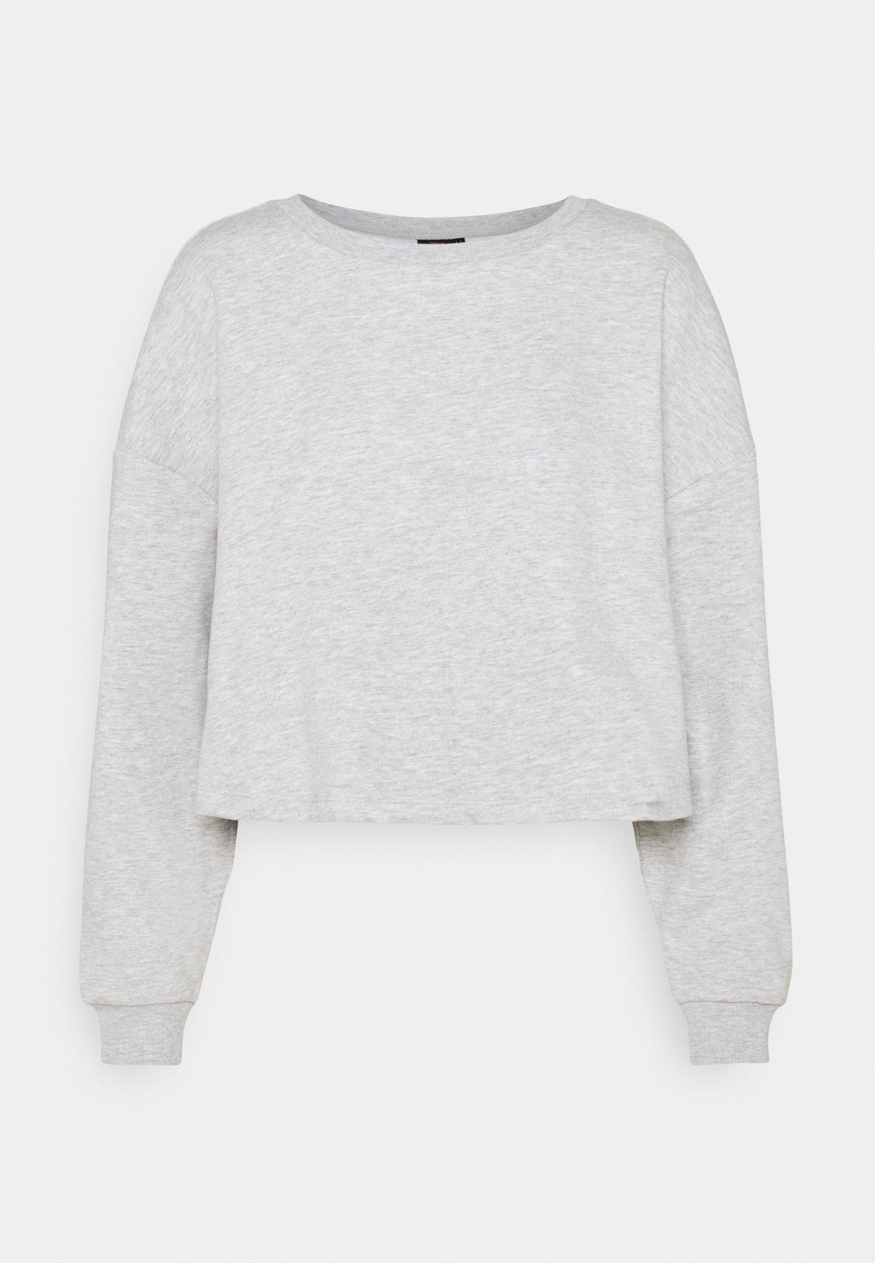 Women ONYFAVE LIFE O NECK CROPPED - Sweatshirt
