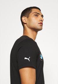 Puma - BMW MMS LOGO TEE - Print T-shirt - black - 3