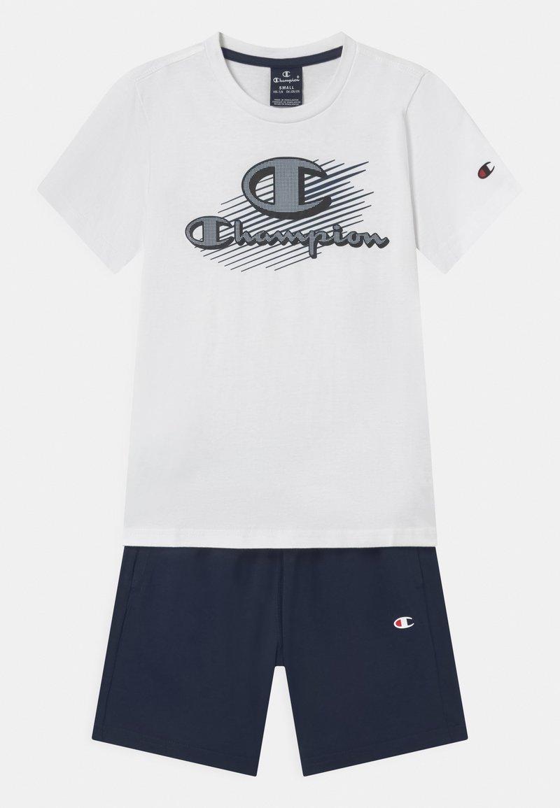 Champion - GRAPHIC SET UNISEX - Print T-shirt - white