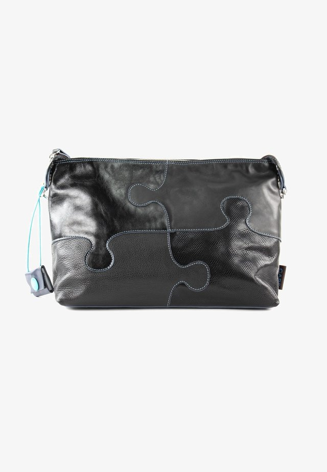 ANGELA PUZZLE  - Across body bag - black