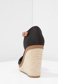 Tommy Hilfiger - ICONIC ELENA SANDAL - Sandaler med høye hæler - black - 4
