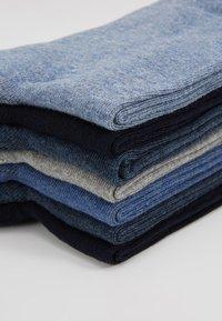 Zalando Essentials - 7 PACK - Strumpor - black/blue/grey - 2