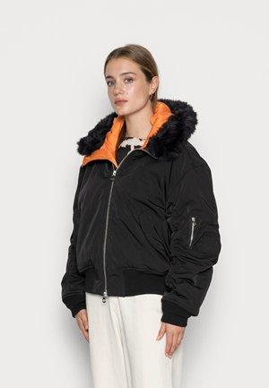 BEATRICE BOMBER JACKET - Winter jacket - black