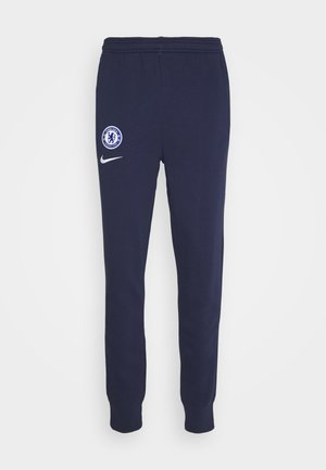 CHELSEA LONDON PANT - Club wear - blackened blue/white