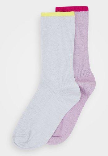 MARIONA CREW SOCK 2 PACK - Socks - rose/mint