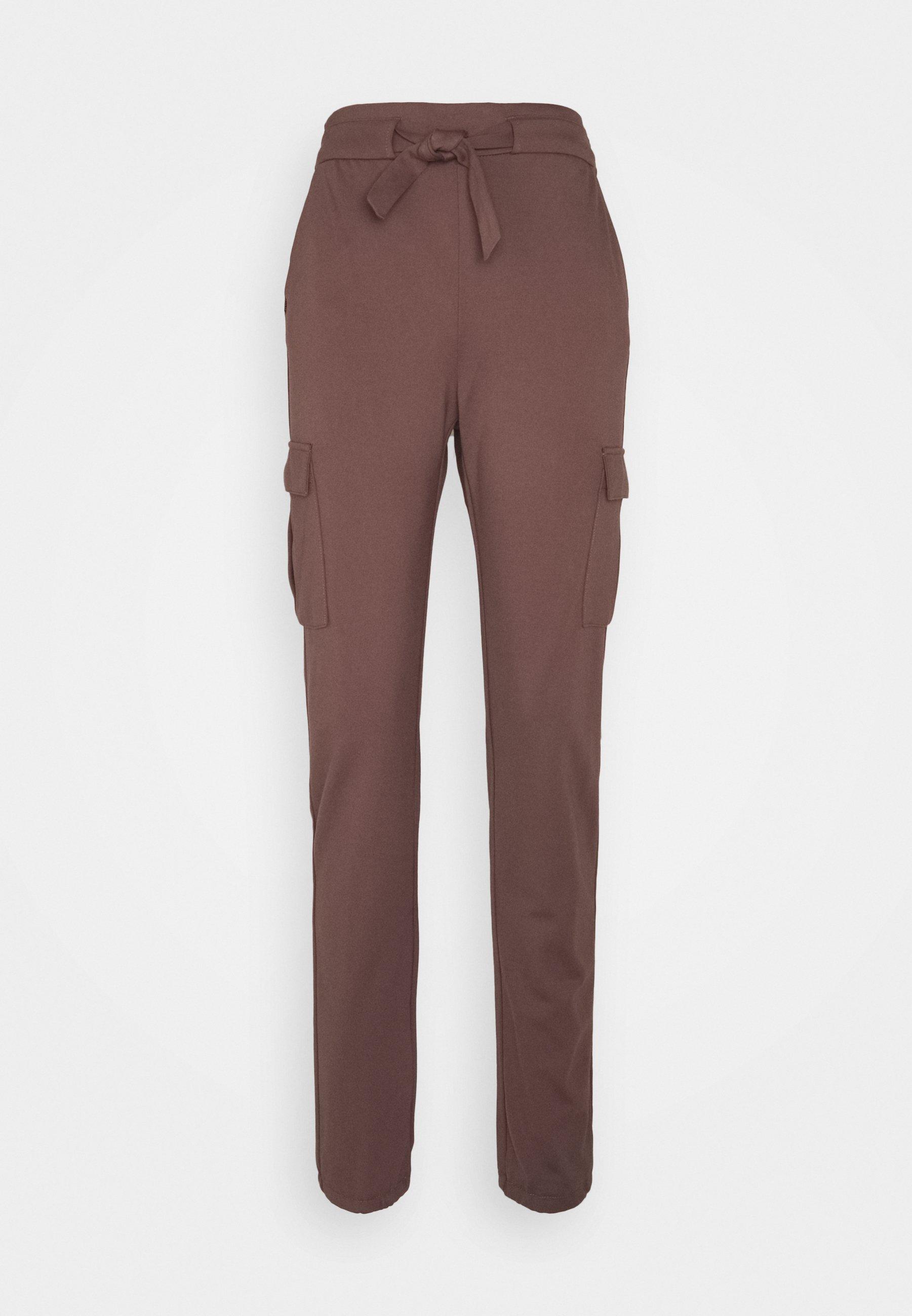 Women ONLPOPTRASH BELT PANT - Cargo trousers