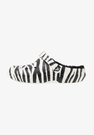 CLASSIC LINED  - Pantuflas - black