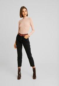 River Island - Jeans Straight Leg - black - 1
