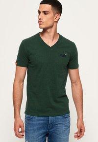 Superdry - T-shirt basic - buck green marl - 0