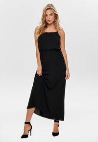 ONLY - ONLWINNER - Maxi dress - black - 1