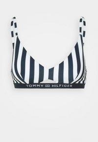 Tommy Hilfiger - CORE SOLID BRALETTE - Bikini top - blue - 5
