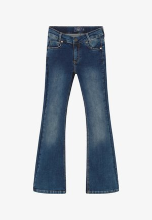 GIRLS FLARED - Bootcut jeans - medium blue