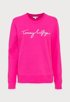 REGULAR GRAPHIC - Sweatshirt - hot magenta