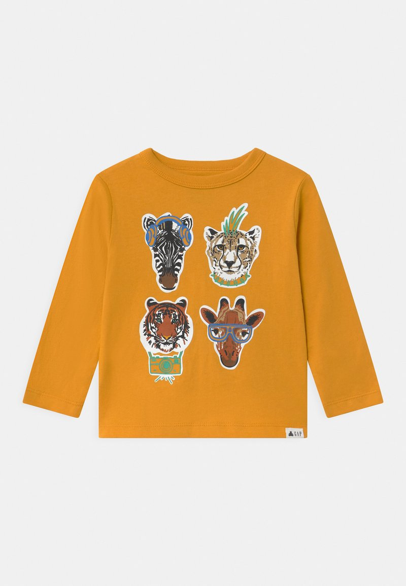 GAP - TODDLER BOY GRAPHIC - Long sleeved top - rugby gold