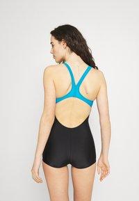 Arena - KAORI COMBINAISON - Swimsuit - black/turquoise - 2