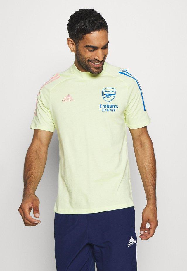 ARSENAL FC FOOTBALL SHORT SLEEVE - Club wear - yellow tint