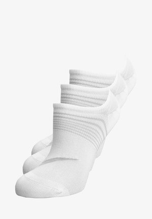 WOMENS LIGHTWEIGHT TRAIN 3 PACK - Trainer socks - white/wolf grey