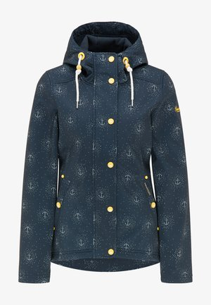 Outdoor jacket - marine aop