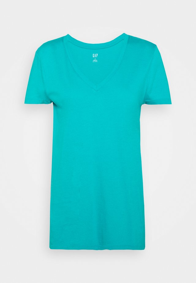 T-shirt basic - blue bird
