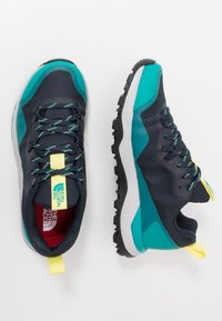 The North Face - W ACTIVIST FUTURELIGHT - Hiking shoes - urban navy/micro chip grey - 1