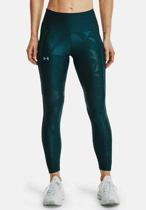 HG AMR EMBOSS - Leggings - dark cyan