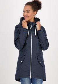 alife & kickin - Waterproof jacket - marine - 0