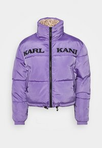 RETRO REVERSIBLE SHORT PUFFER JACKET - Winter jacket - lilac
