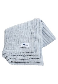 Nordic coast company - 4-IN-1 - Muslin blanket - blue - 1