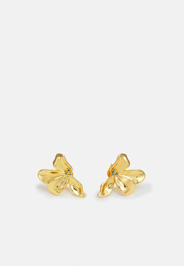FLEUR  - Boucles d'oreilles - gold-coloured