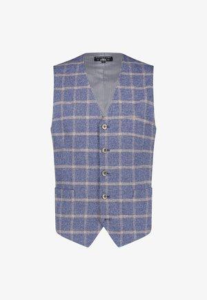 Suit waistcoat - cobalt/mango