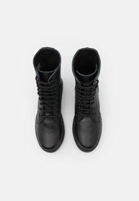 DECHASE - KEFF HIGH UNISEX - Lace-up ankle boots - black - 3