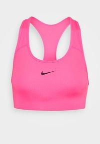 BRA PAD - Medium support sports bra - hyper pink