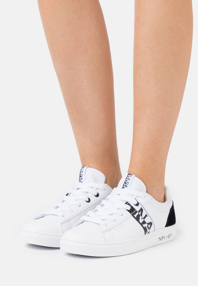 Napapijri - WILLOW - Sneakers basse - white/black