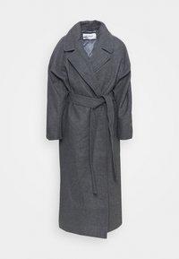 Weekday - KIA BLEND COAT - Zimní kabát - antracit melange - 4