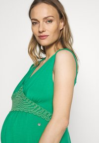 LOVE2WAIT - NURSING CROCHET - Maxi šaty - green - 4