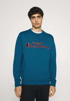FLOCK SIGNATURE CREW - Sweater - petrol