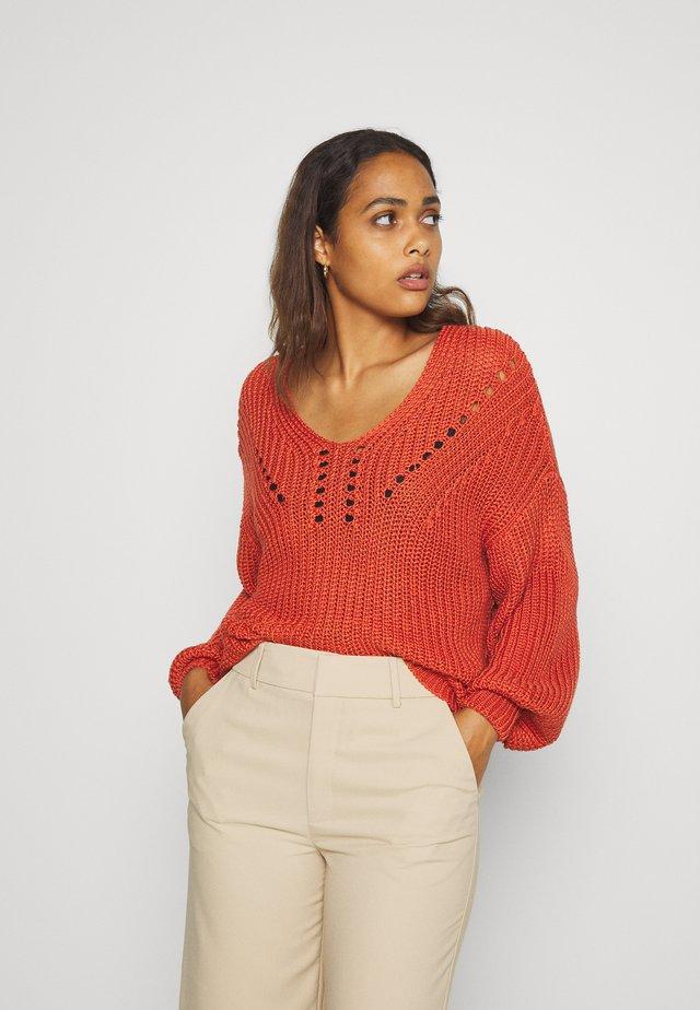 YASJOY  - Pullover - chili