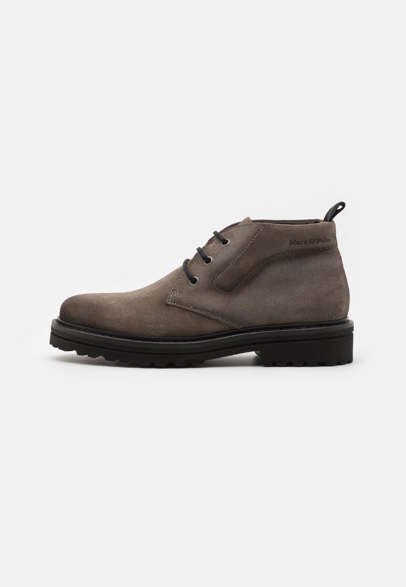 Marc O'Polo - Volnočasové šněrovací boty - taupe