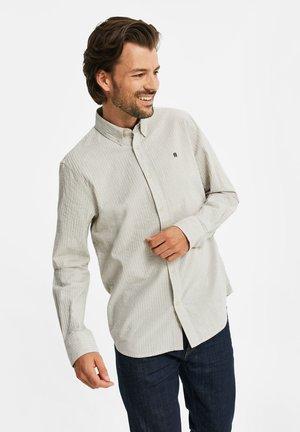 SLIM FIT  - Shirt - off-white