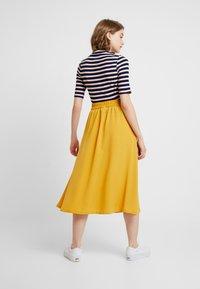 Monki - SIGRID SKIRT - A-line skirt - mustard - 2