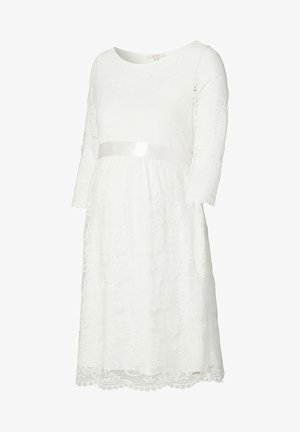 DRESS - Jersey dress - off white